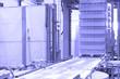 Сonveyor line at factory