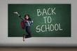 Happy student back to school