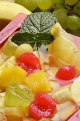 Fruit cocktail Macedonia de frutas Obstsalat Фруктовый салат
