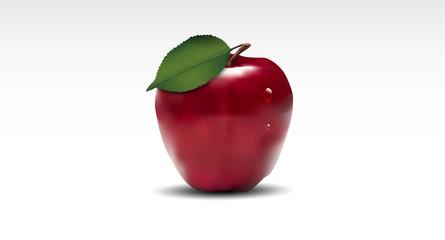 mele rosse, mela rossa