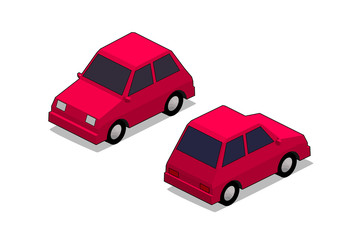 orthographic city car