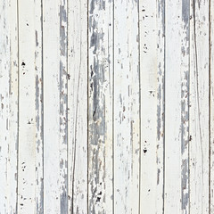 Old white wood plank background.