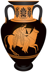 "Amphora ""Europa and the bull"""