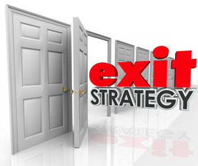 Exit Strategy Open Door Leave Escape Plan Agreement Marriage