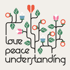 Peace, Love and Understanding