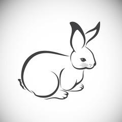 Vector image of an rabbit