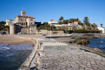 Resort Town of Estoril in Portugal.