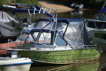 Fishing  Motorboat Moored