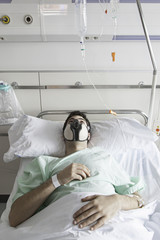 Infected patient