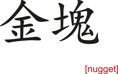 Chinese Sign for nugget
