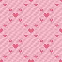Hearts seamless pattern