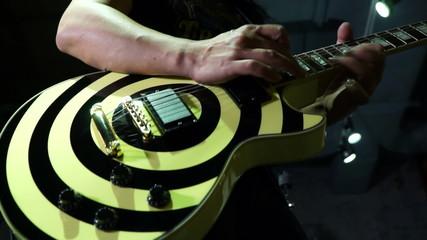 Man playing guitar (HD)