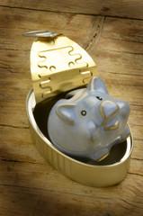 Piggy bank Sparebøsse Caruseddu Sparschwein Cochon tirelire