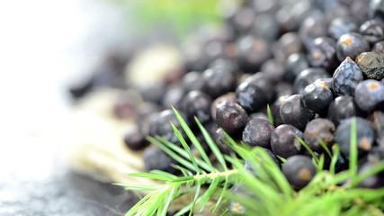 Portion of Juniper Berries (loopable)