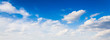 blue sky background with clouds - 68627309