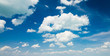 blue sky background with clouds - 68627330