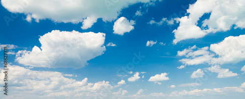 blue sky background with clouds - 68627319