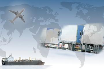 Welthandel Collage