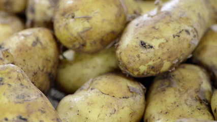 Portion of Potatoes (loopable video)
