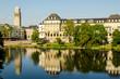 canvas print picture - Stadtpanorma Muehlheim an der Ruhr NRW
