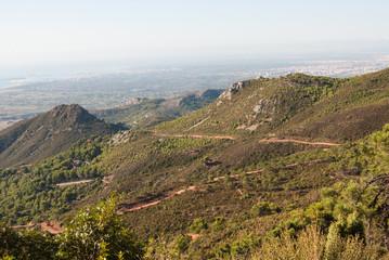 El Desert de les Palmes  near Castellon, Spain