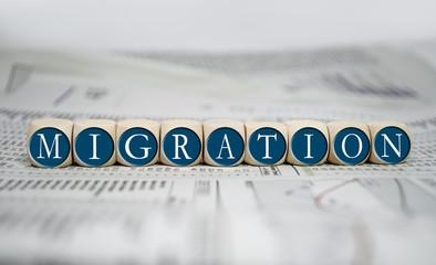 Würfel mit Migration