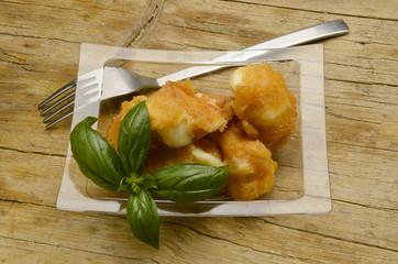 Mozzarella Cucina italiana Mozzarelle in carrozza モッツァレッラ
