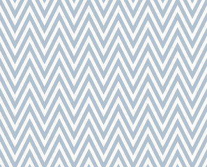 Blue and White Zigzag Textured Fabric Repeat Pattern Background