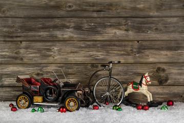 Nostalgie Weihnachten: Weihnachtsgutschein oder Weihnachtskarte