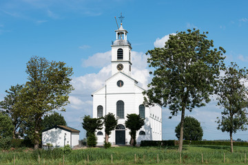 white christian church in holland
