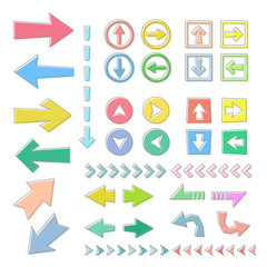 矢印アイコンセット / vector eps10
