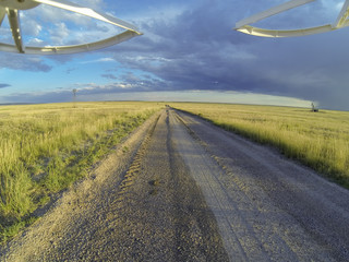 road in Pawnee Grassland