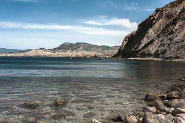 Скалистое побережье Черного моря