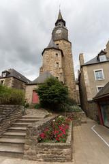 La grande horloge de Dinan en Bretagne