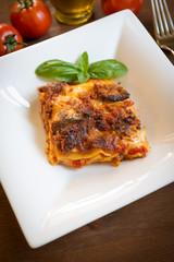 Lasagne al forno, cucina italiana