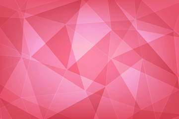 red polygon geometric abstract   background
