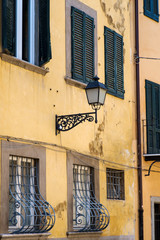 Shutters and Lamp
