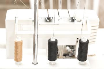 sewing and overlock machine