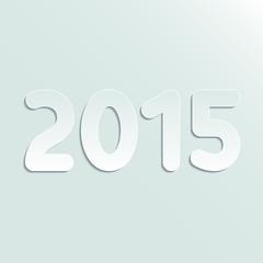 Paper symbol 2015 year
