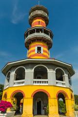 Chinese Style Building  at Bangpain Royal Palace , Ayutthaya in