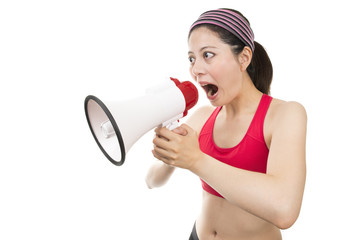 Sport Trainer with Megaphone