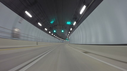 Port of Miami Tunnel drive through