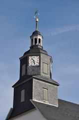 Kirchturm in Floh-Seligenthal
