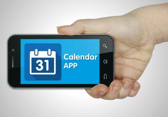 Calendar app. Mobile