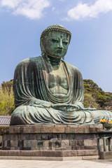 Kamakura Daibutsu or Great Buddha in Kotoku-in Temple