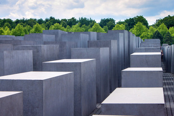 Holocaust momorial in Berlin
