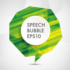 abstract Speech bubble background,eps10