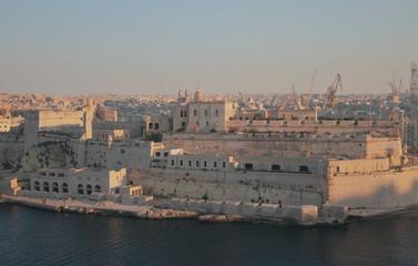 Fort of Saint Angelo. Birgu, Valletta, Malta