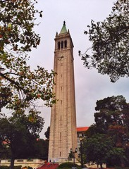 Sather Tower in UC Berkeley