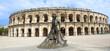 amphitheater in Nimes